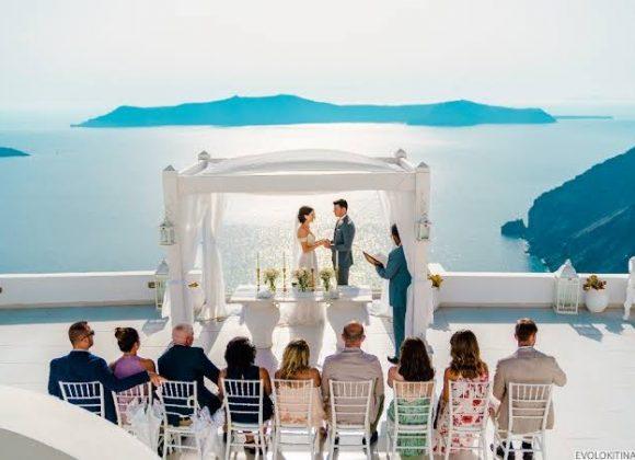 Wedding Planner in Santorini Greece for 2022 / 2023